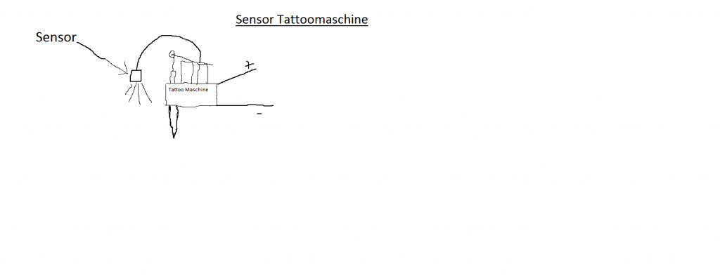 Sensor Tattoomaschine