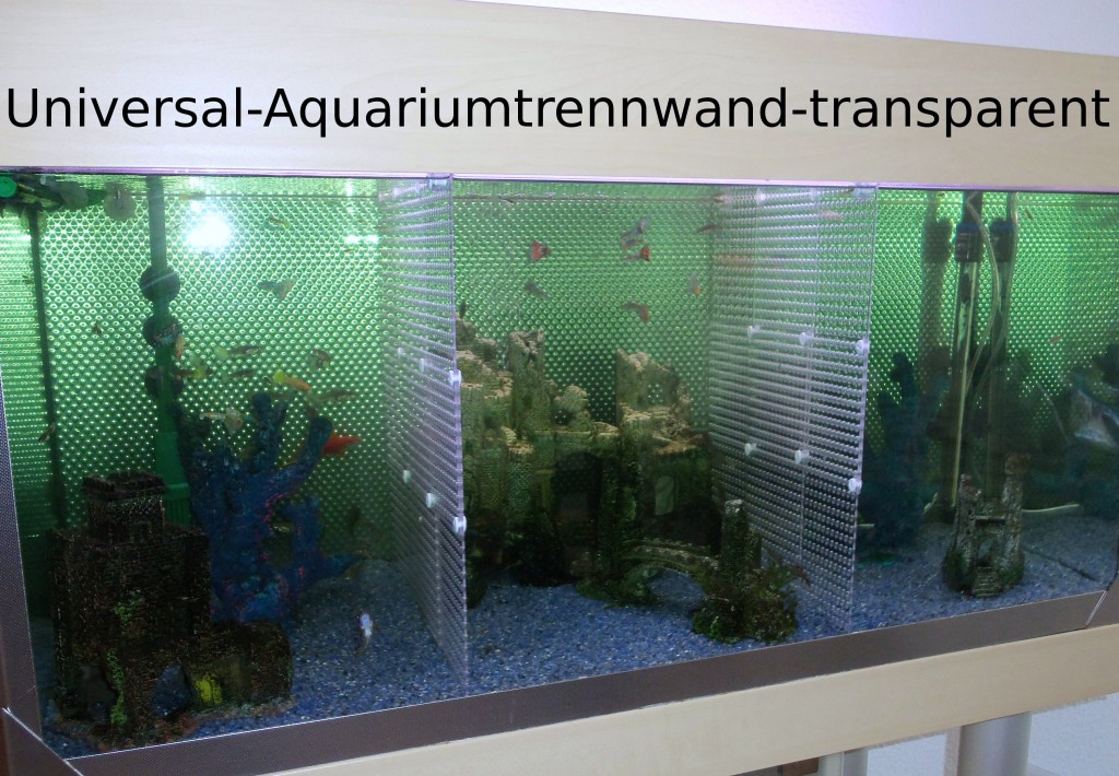 universal aquariumtrennwand transparent manugoo. Black Bedroom Furniture Sets. Home Design Ideas