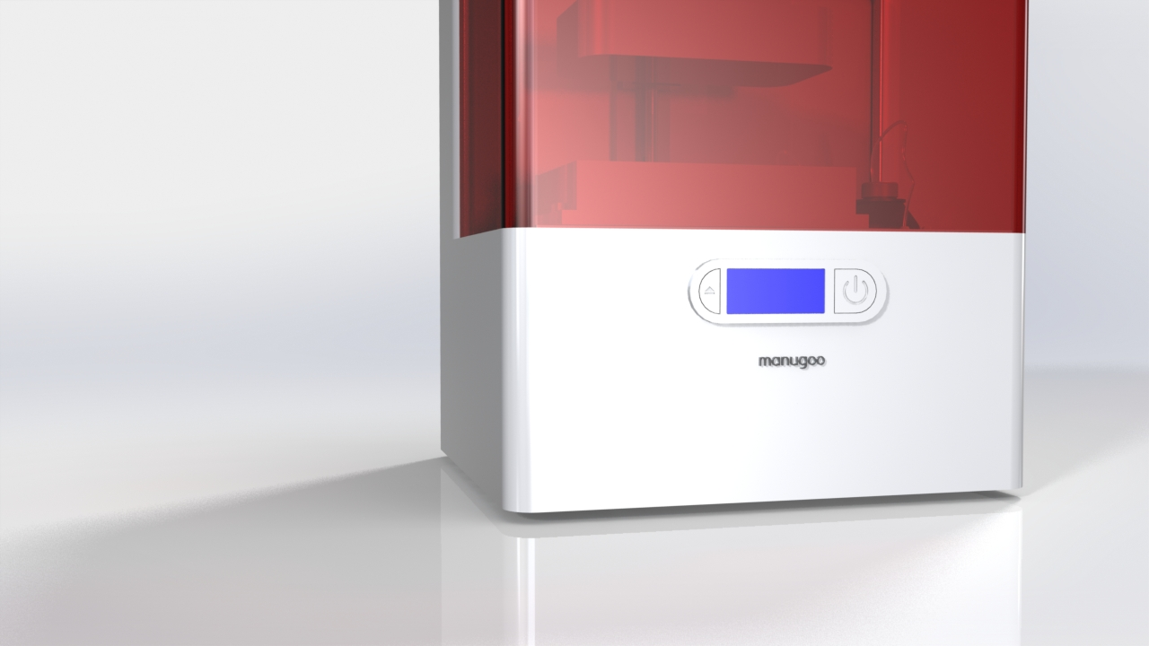3D Drucker Funktionen – Konzepte LCD Info Display