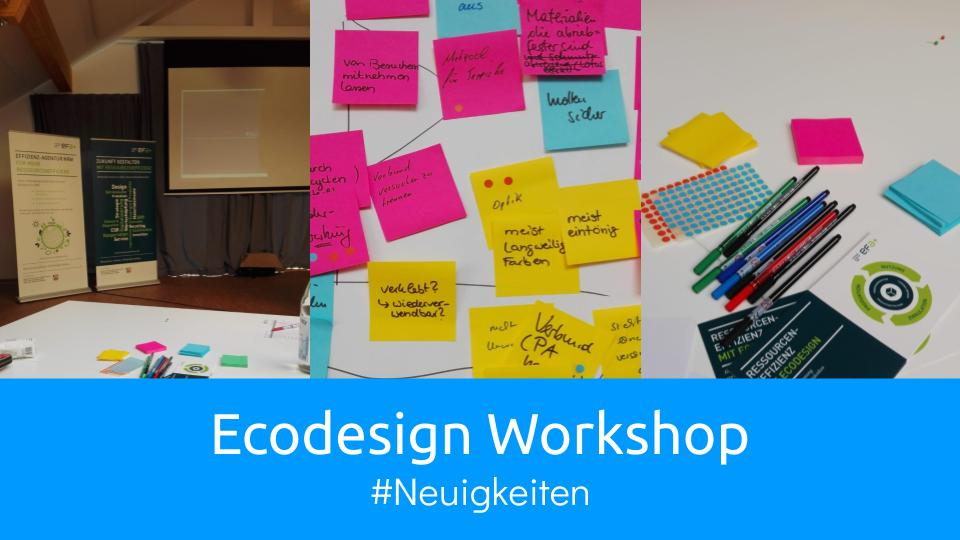 Ecodesign Workshop