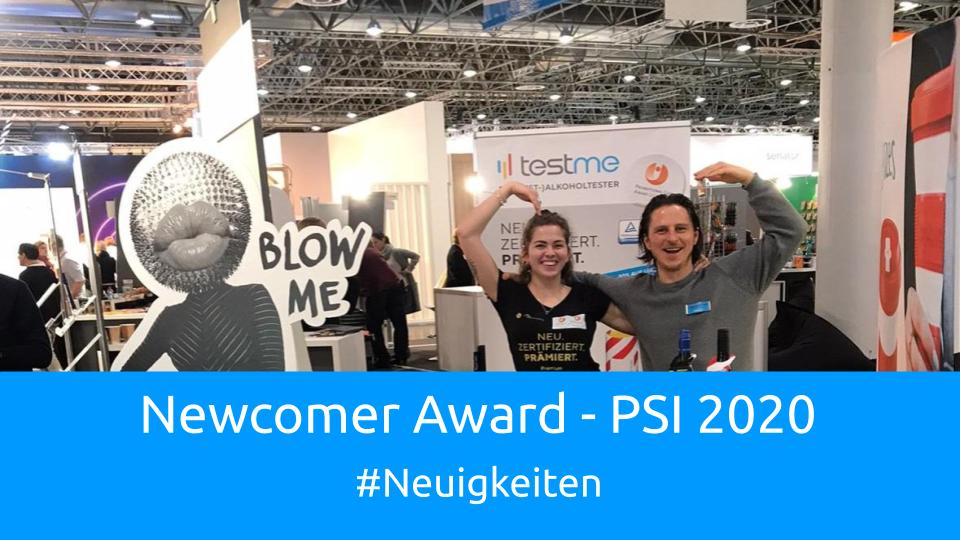 PSI 2020 – Newcomer Award