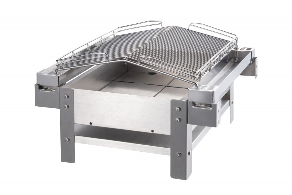 raucharmer Balkongrill/Tischgrill/Picknickgrill