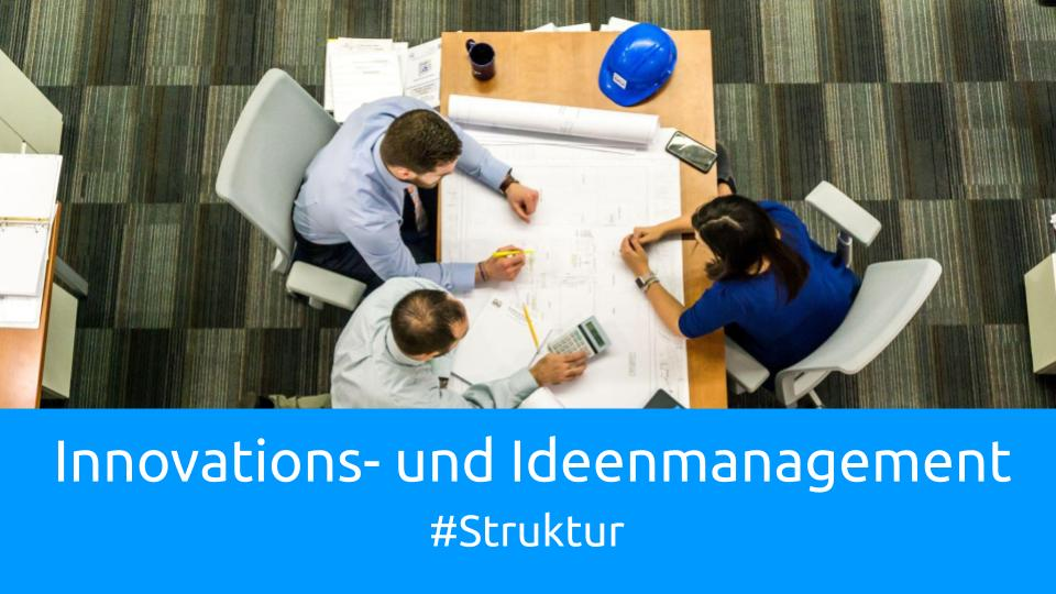 Innovations- und Ideenmanagement